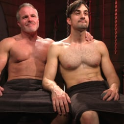 Dale Savage in 'Kink Men' Muscle Daddy Dale Savage Punishes Big-Dicked Mason Lear (Thumbnail 34)