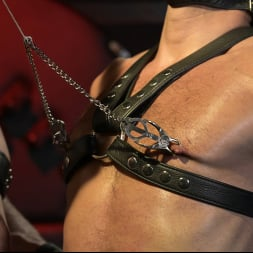 Dale Savage in 'Kink Men' Power Fuck: Hot Leather Men Inflict Muscle Domination and Intense Pain (Thumbnail 2)
