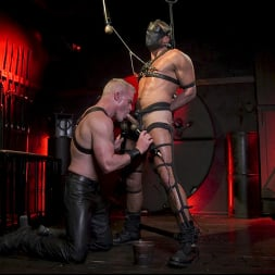 Dale Savage in 'Kink Men' Power Fuck: Hot Leather Men Inflict Muscle Domination and Intense Pain (Thumbnail 4)