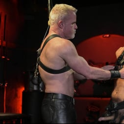 Dale Savage in 'Kink Men' Power Fuck: Hot Leather Men Inflict Muscle Domination and Intense Pain (Thumbnail 6)