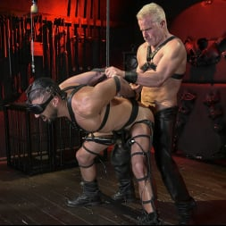 Dale Savage in 'Kink Men' Power Fuck: Hot Leather Men Inflict Muscle Domination and Intense Pain (Thumbnail 9)