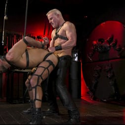 Dale Savage in 'Kink Men' Power Fuck: Hot Leather Men Inflict Muscle Domination and Intense Pain (Thumbnail 11)