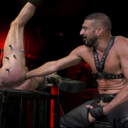 Dale Savage in 'Kink Men' Power Fuck: Hot Leather Men Inflict Muscle Domination and Intense Pain (Thumbnail 18)