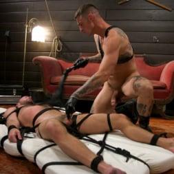 Dane Stewart in 'Kink Men' Captive slave Alex Hawk submits to Daddy Dane Stewart (Thumbnail 10)