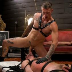 Dane Stewart in 'Kink Men' Captive slave Alex Hawk submits to Daddy Dane Stewart (Thumbnail 14)