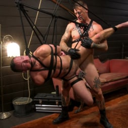 Dane Stewart in 'Kink Men' Captive slave Alex Hawk submits to Daddy Dane Stewart (Thumbnail 18)