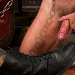 Dane Stewart in 'Kink Men' Captive slave Alex Hawk submits to Daddy Dane Stewart (Thumbnail 22)