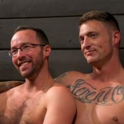 Dane Stewart in 'Kink Men' Captive slave Alex Hawk submits to Daddy Dane Stewart (Thumbnail 23)