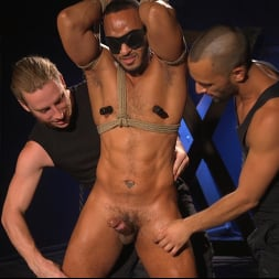 Dillon Diaz in 'Kink Men' Perpetually Rigged to the Ceiling, Suspended and Edged (Thumbnail 7)