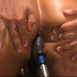 Dillon Diaz in 'Kink Men' Perpetually Rigged to the Ceiling, Suspended and Edged (Thumbnail 11)
