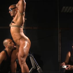 Dillon Diaz in 'Kink Men' Perpetually Rigged to the Ceiling, Suspended and Edged (Thumbnail 14)