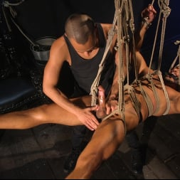 Dillon Diaz in 'Kink Men' Perpetually Rigged to the Ceiling, Suspended and Edged (Thumbnail 15)