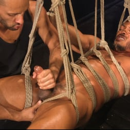 Dillon Diaz in 'Kink Men' Perpetually Rigged to the Ceiling, Suspended and Edged (Thumbnail 23)