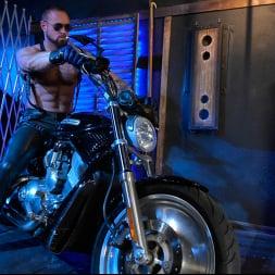 Dillon Diaz in 'Kink Men' Rode Hard: Dillon Diaz Dominated On Michael Roman's Motorcycle (Thumbnail 2)