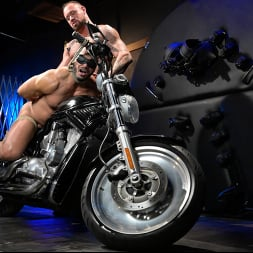 Dillon Diaz in 'Kink Men' Rode Hard: Dillon Diaz Dominated On Michael Roman's Motorcycle (Thumbnail 7)