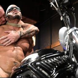 Dillon Diaz in 'Kink Men' Rode Hard: Dillon Diaz Dominated On Michael Roman's Motorcycle (Thumbnail 14)