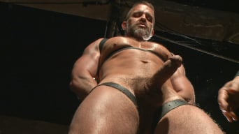 Dirk Caber in 'Muscled hunk Dirk Caber relentlessly tormented and his ass violated'