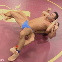 Dominic Pacifico in 'Kink Men' Alexander 'The Great' Gustavo vs Dominic 'The Dominator' Pacifico (Thumbnail 1)