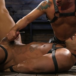 Dominic Pacifico in 'Kink Men' Bodybuilder Draven Navarro Takes Pain, Extreme CBT, and Gets Fucked (Thumbnail 15)
