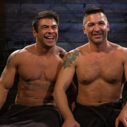 Dominic Pacifico in 'Kink Men' Bodybuilder Draven Navarro Takes Pain, Extreme CBT, and Gets Fucked (Thumbnail 22)