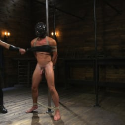 Dominic Pacifico in 'Kink Men' Bronze Submissive God Ian Greene gets Brutally Beaten and Fucked Senseless by Hung Stud (Thumbnail 5)