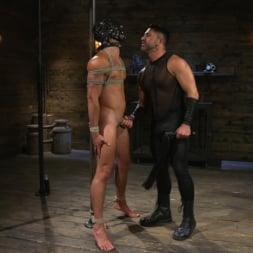 Dominic Pacifico in 'Kink Men' Bronze Submissive God Ian Greene gets Brutally Beaten and Fucked Senseless by Hung Stud (Thumbnail 6)