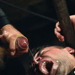 Dominic Pacifico in 'Kink Men' Bronze Submissive God Ian Greene gets Brutally Beaten and Fucked Senseless by Hung Stud (Thumbnail 14)