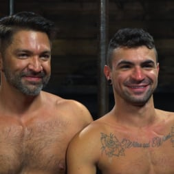 Dominic Pacifico in 'Kink Men' Bronze Submissive God Ian Greene gets Brutally Beaten and Fucked Senseless by Hung Stud (Thumbnail 15)
