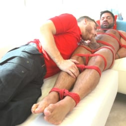 Dominic Pacifico in 'Kink Men' Delivery Gone Wrong - Uncut Stud Gets Edged By the Pizza Delivery Guy (Thumbnail 6)