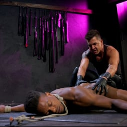 Dominic Pacifico in 'Kink Men' Dom Worship: Newcomer Adrian Hart Services Muscle God Dominic Pacifico (Thumbnail 1)