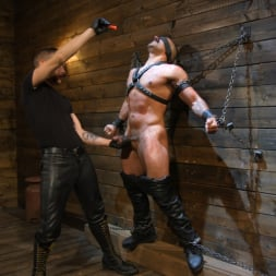 Dominic Pacifico in 'Kink Men' FIRST SHOOT for Muscle Stud Chad Stone (Thumbnail 1)