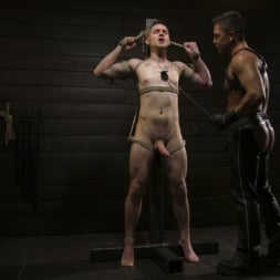 Dominic Pacifico in 'Kink Men' Pretty boy Zak Bishop gets trained by Master Pacifico (Thumbnail 3)