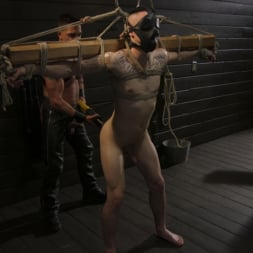 Dominic Pacifico in 'Kink Men' Pretty boy Zak Bishop gets trained by Master Pacifico (Thumbnail 14)