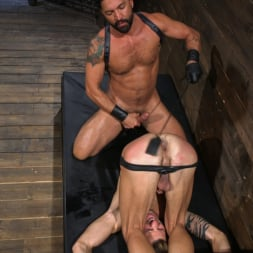 Dominic Pacifico in 'Kink Men' Submissive Stud Casey Everett gets Tied Up and Machine Fucked by a God (Thumbnail 10)