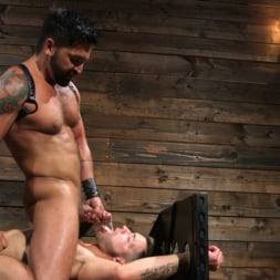 Dominic Pacifico in 'Kink Men' Submissive Stud Casey Everett gets Tied Up and Machine Fucked by a God (Thumbnail 13)