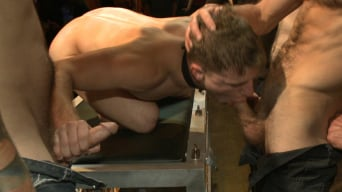 Doug Acre in 'Wax and Gang Bang a Muscled Stud with a Fat Cock'