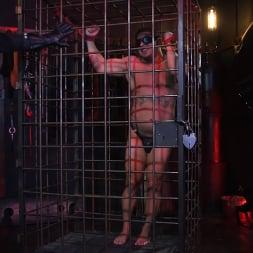 Draven Navarro in 'Kink Men' The Collector: Draven Jerks Off Under Watchful Eyes of Sperm Pervert (Thumbnail 2)