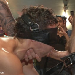 Dylan Strokes in 'Kink Men' Bar Slut Gang Fucked and Covered in the Crowd's Cum (Thumbnail 11)