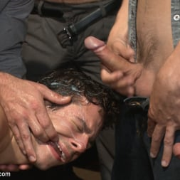 Dylan Strokes in 'Kink Men' Bar Slut Gang Fucked and Covered in the Crowd's Cum (Thumbnail 17)