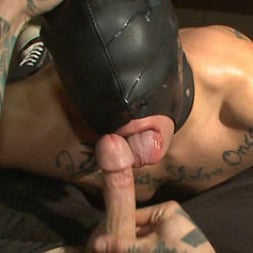 Eli Hunter in 'Kink Men' Horny crowd mercilessly gang fucks a bound hung stud against his will (Thumbnail 8)
