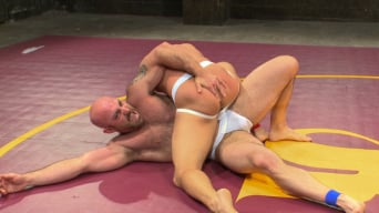 Eli Hunter in 'Hot muscled newbie Tatum 'The Beast' takes on Eli 'The Hammer' Hunter'
