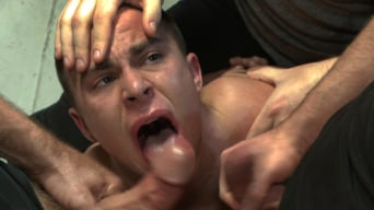 Eli Hunter in 'Hot art thief with a big cock beaten and fucked into submission'