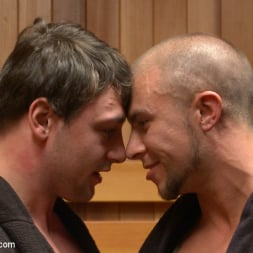 Eli Hunter in 'Kink Men' Top Cock: Hot Studs Eli Hunter and Scott Harbor Take it to the Mat (Thumbnail 1)