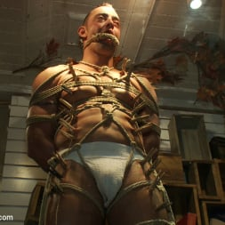 Fabio Stallone in 'Kink Men' Ripped Muscle, Fat Cock, Round Ass, Humiliated in Public (Thumbnail 3)