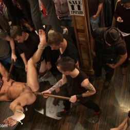 Fabio Stallone in 'Kink Men' Ripped Muscle, Fat Cock, Round Ass, Humiliated in Public (Thumbnail 7)