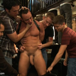 Fabio Stallone in 'Kink Men' Ripped Muscle, Fat Cock, Round Ass, Humiliated in Public (Thumbnail 8)