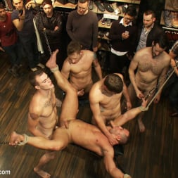 Fabio Stallone in 'Kink Men' Ripped Muscle, Fat Cock, Round Ass, Humiliated in Public (Thumbnail 13)