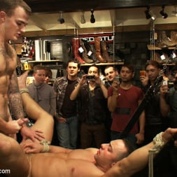 Fabio Stallone in 'Kink Men' Ripped Muscle, Fat Cock, Round Ass, Humiliated in Public (Thumbnail 15)