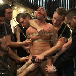 Fabio Stallone in 'Kink Men' Ripped Muscle, Fat Cock, Round Ass, Humiliated in Public (Thumbnail 18)