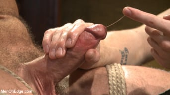 Hugh Hunter in 'Hot KinkMen fan gets the full treatment as he's bound and aching to cum'